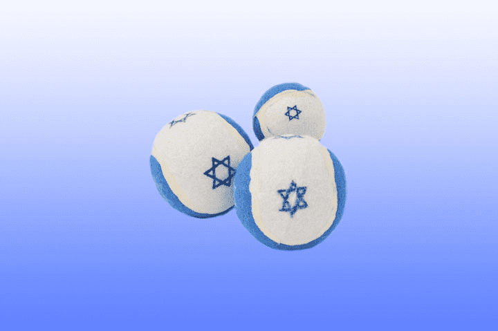 Star of David Tennis Ball