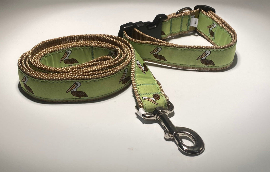 Pelican Collar & Lead.