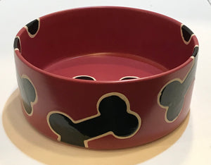 Black Bone Dog Bowl*.
