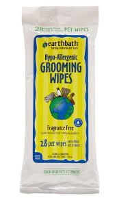 Earthbath Grooming Wipes*.