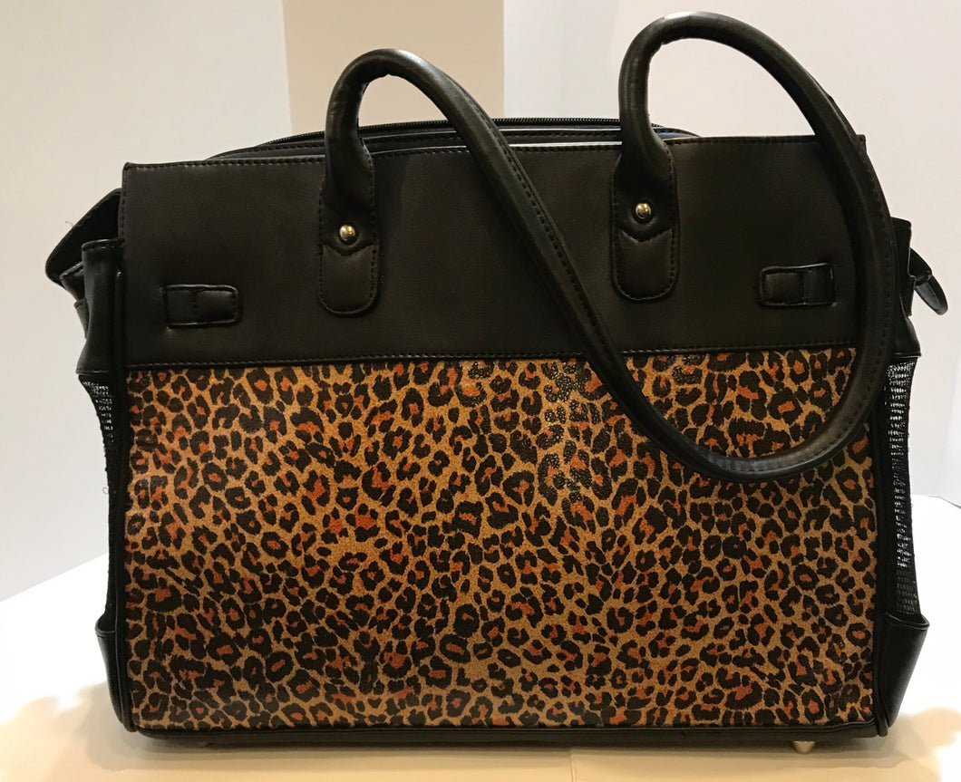 Cheetah Leather Carrier*.