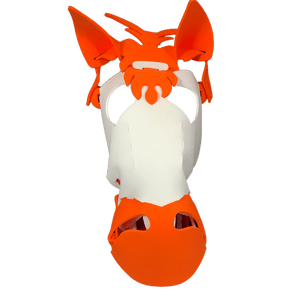 Horse Masks White/ Orange*.