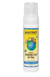 Earthbath Hypoallergenic Groom Foam for Dogs
