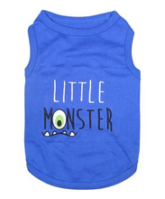 Load image into Gallery viewer, Little Monster T-shirt*.