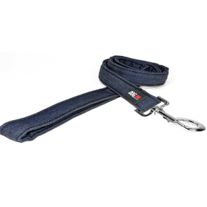 Denim Flat Leash*.