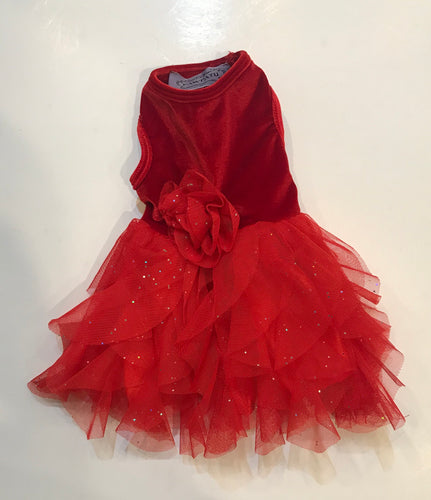Red Christmas Dress