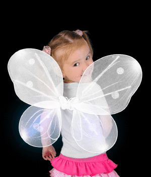 LED Butterfly Wings for Kids or Dogs