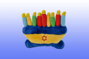Menorah Plush Toy