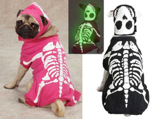 Load image into Gallery viewer, Glow In The Dark Skeleton Costume