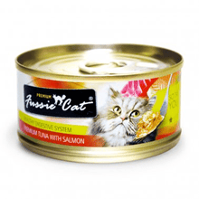 Load image into Gallery viewer, Fussie Cat Cat Food 2.8 oz*