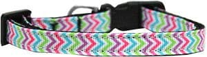 Summer Chevrons Nylon Cat Collar*.