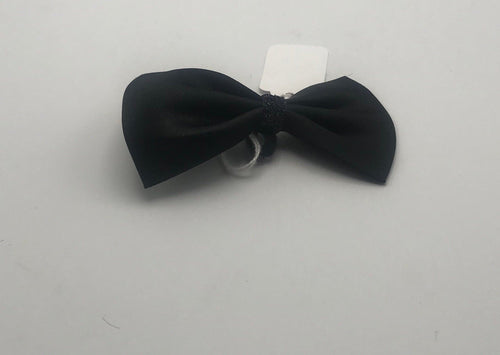 Bow Tie w/Sparkle Black