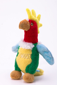 Schmoozer the Parrot Stuffed Toy