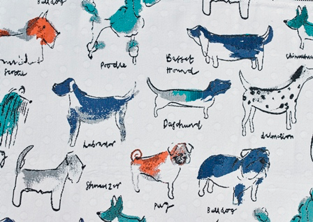 Special Order Fabric (UPTOWN DOGS)*.