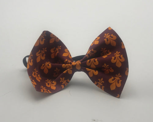 Large Bow Tie Maroon FDL