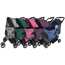 Load image into Gallery viewer, Casual Pet Stroller + Removable Cup Holder*.