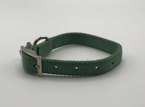 Lt. Green Collar with buckle *.