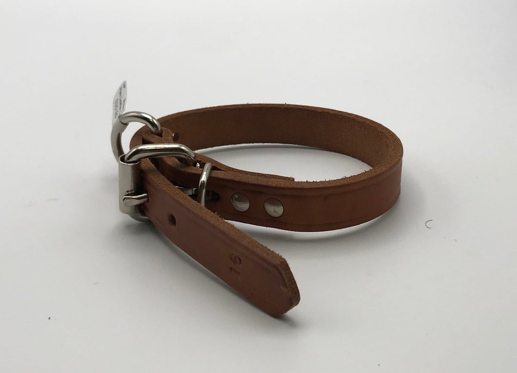 Plain Leather Collar