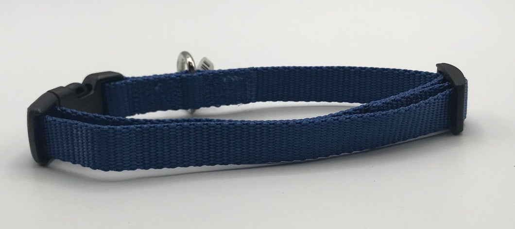 Basic Blue Nylon Collar M*.
