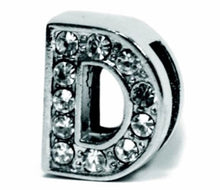 Load image into Gallery viewer, Slider Collar Rhinestone Letters
