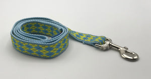 Blue/Yellow nylon Lead 4'