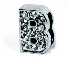 Load image into Gallery viewer, Slider Collar Rhinestone Letters*.