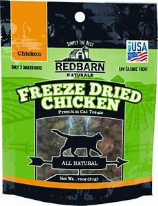 Redbarn Naturals Freeze Dried Chicken Cat Treats*.
