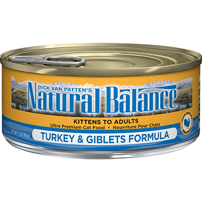 Natural Balance Canned Cat Food