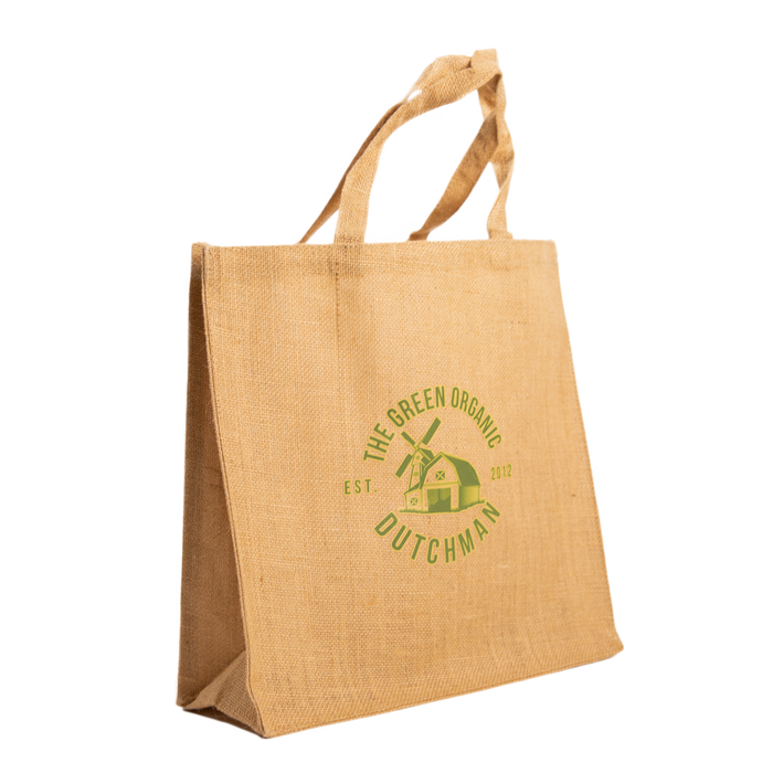 Link to TGOD Laminated Everyday Jute Tote