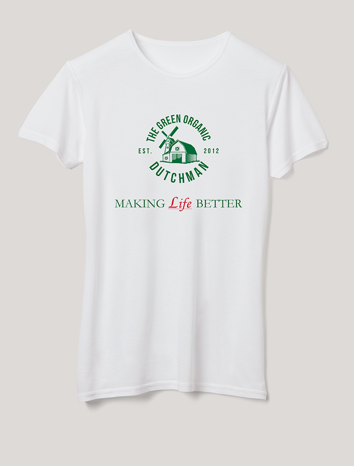 Link to TGOD - Making Life Better T-Shirt for women