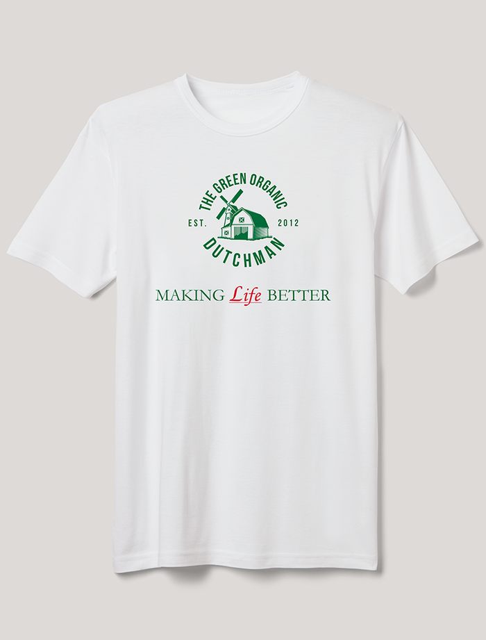Link to TGOD - Making Life Better T-Shirt for men