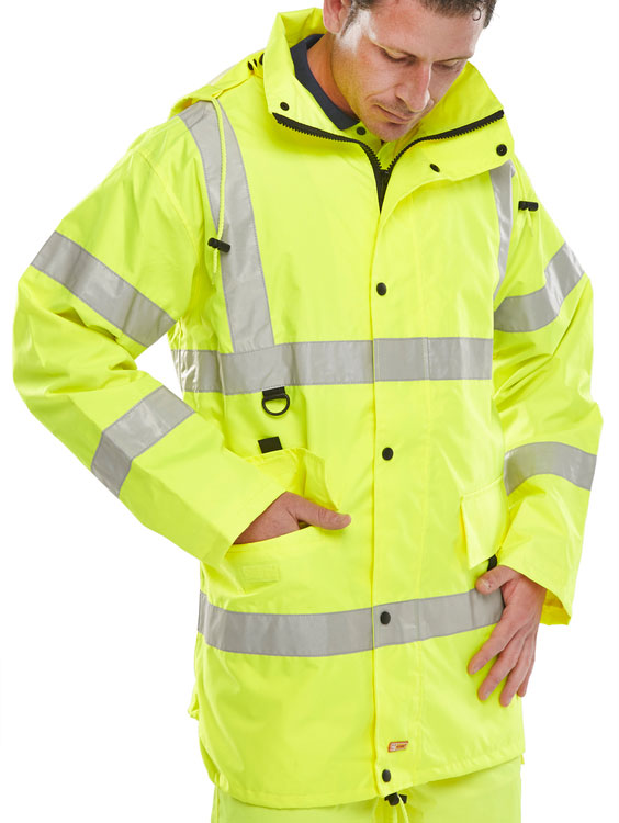 JUBILEE JACKET SATURN YELLOW | Cavan Safety Supplies