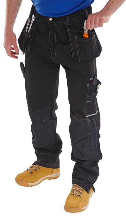 SHAWBURY MULTI PURPOSE TROUSER BLACK | Cavan Safety Supplies
