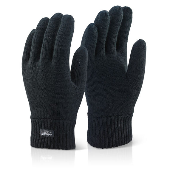 THINSULATE GLOVE BLACK