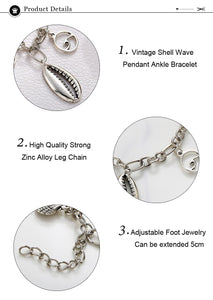 2019 Sealife Pendant Anklets