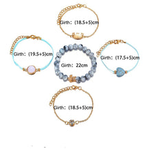Load image into Gallery viewer, 5 Pcs Set Bracelets