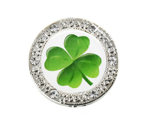*Small Spaces* Four Leaf Clover Bling (SKU: 01BA-401)
