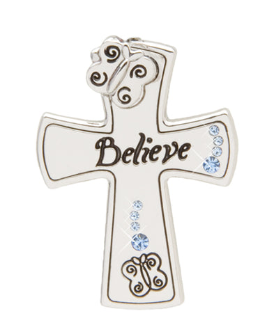 *Small Spaces* Believe Cross (SKU: 01A-140)