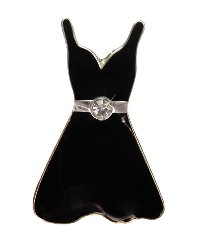 *Small Spaces* Black Dress (SKU: 01A-175)
