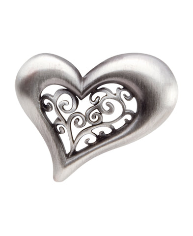 *Small Spaces* Filigree Heart (SKU: 01A-129)