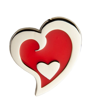 Red Heart in Heart (SKU: 01C-310)
