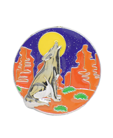 *Small Spaces* Howling Coyote (SKU: 09-027)