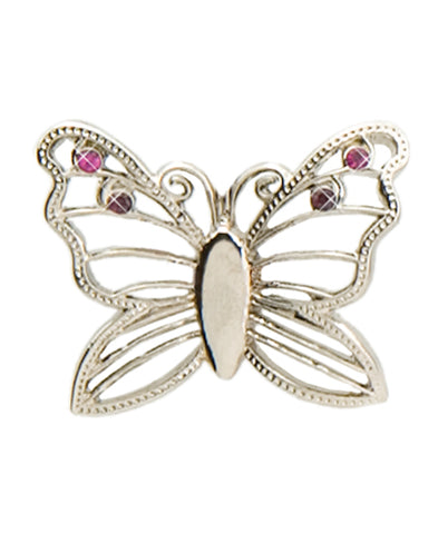 *Small Spaces* Silver Butterfly (SKU: 01A-078)