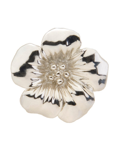 *Small Spaces* Silver Floral (SKU: 01A-110)