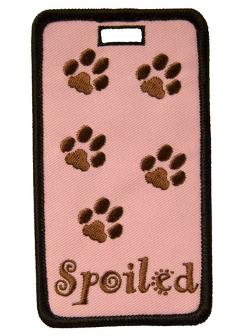 Spoiled Luggage Tag (SKU: 08-006)