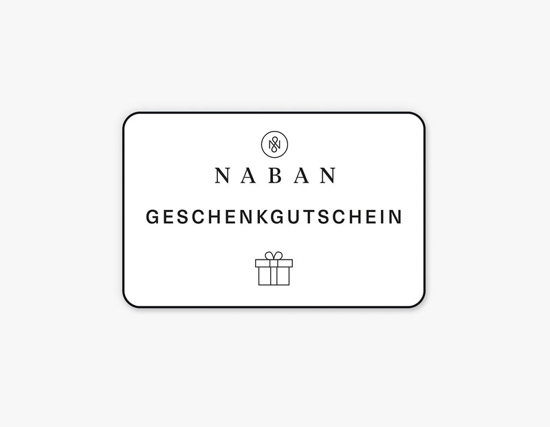 NABAN Geschenkgutschein | NABAN – Natural Skincare for Men