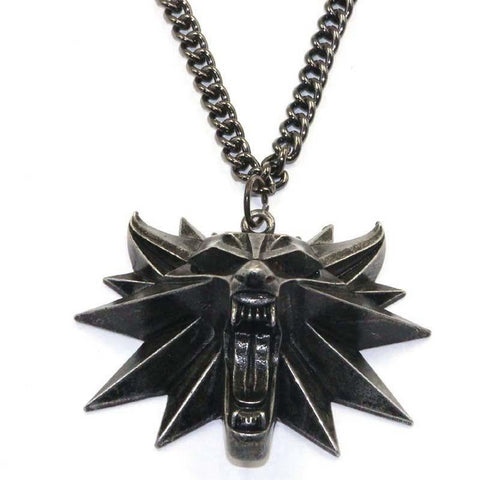 witcher wild hunt pendant necklace for men