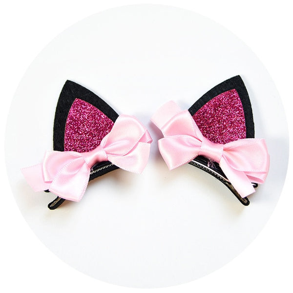 Cute Hello Kitty  Hair Clips