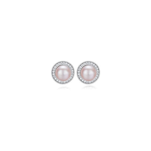 pearl earrings , mother's day gift