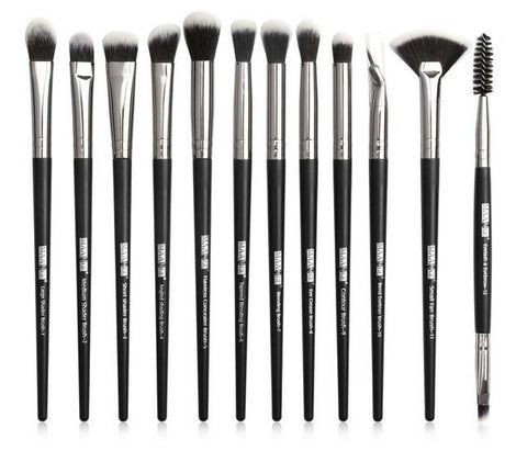 Eye Makeup brushes set professional 12 pcs